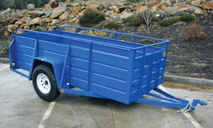 Where to find 5x10 Open Box Utility Trailer in Redwood City