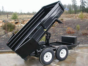 Where to find Hydraulic Dump Trailer 3 Cubic Yards in Redwood City