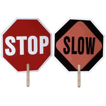 Where to find Stop Slow Warning Signs in Redwood City