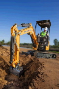 Where to rent Mini Excavator Rental Vio-17a in Redwood City CA