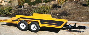 Where to find 6 10 x16  Equipment Trailer in Redwood City