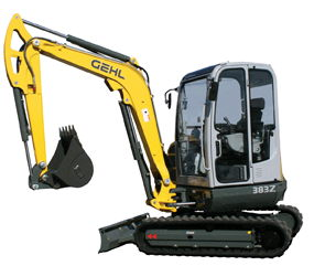 Where to find Compact Excavator Rental Vio-35 in Redwood City