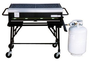 Where to find Propane BBQ 3  X 2  Grill Rental in Redwood City