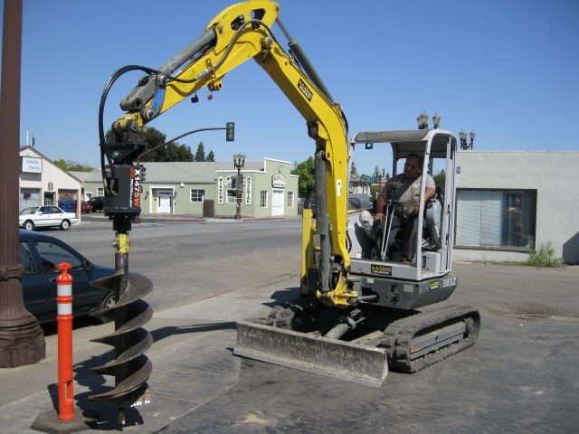 Where to find Excavator Auger Attachment in Redwood City