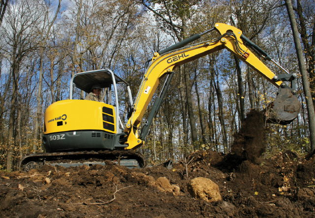 Where to find Compact Excavator Rental 5003ZT in Redwood City