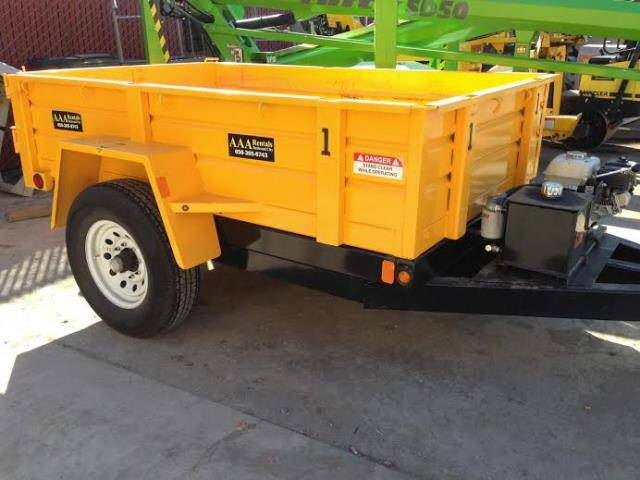 Where to find Hydraulic Dump Trailer 2 Cubic Yards in Redwood City